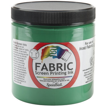Speedball Fabric Screen Printing Ink Green 8Oz