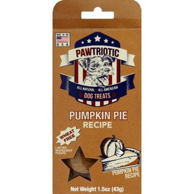 Wet Noses Natural Dog Treat Co Trial Size Pumpkin Flavor Paw