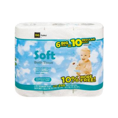 DG Home Roll Bath Tissue