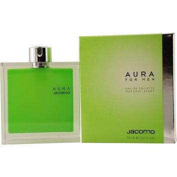 Jacomo Aura by Jacomo for Men 2.4 oz EDT Spray - EWIN WATTS