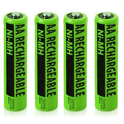 NiMh AA Batteries 2X2-Pack for Uniden NiMh AA Batteries 2-Pack for Uniden Phones