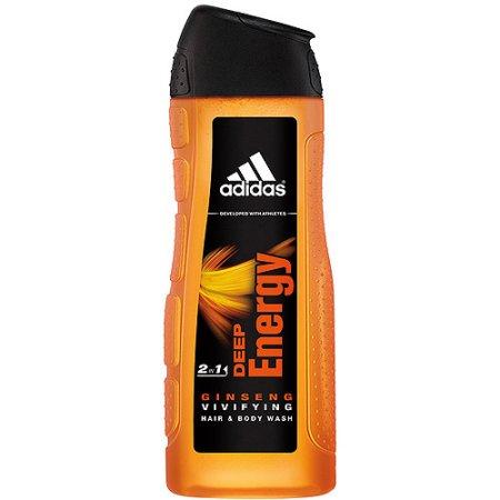 adidas Deep Energy Ginseng Vivifying 2 in 1 Hair & Body Wash, 13.5 fl oz