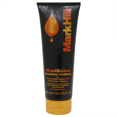 Mark Hill Miracoilicious Nourishing Conditioner with Moroccan Argan Oil, 8.4 fl oz