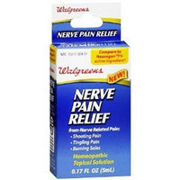 Walgreens Nerve Pain Relief Homeopathic Topical Solution, .17 oz