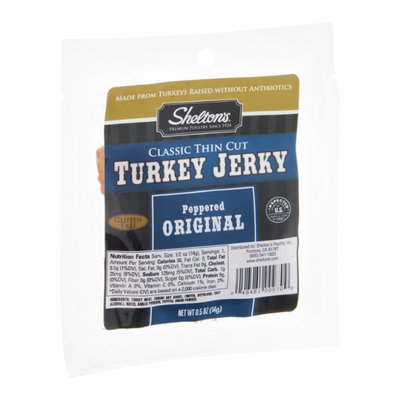 Shelton's Turkey Jerky Peppered Original