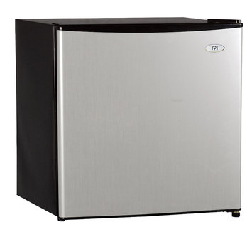 Sunpentown Int'l Inc SPT Energy Star 1.6 Cubic Foot Stainless Steel Refrigerator