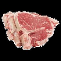 USDA Choice Beef Loin T-Bone Steak - 3 CT
