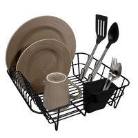 Hms Manufacturing Home Logic Black Small Dish Drainer - HMS MFG. CO.