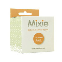 Mixie Baby Stage 2 Silicone Nipple