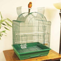 Petco Designer Green Dome Playtop Parrot Cage