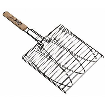 GrillPro 24014 Deluxe Large Non-Stick Fish Basket