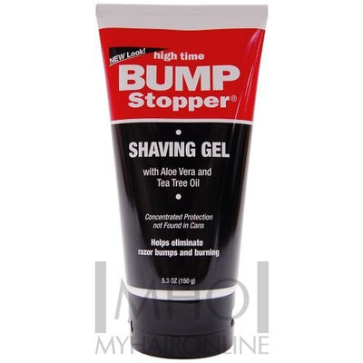 High Time Bump Stopper Shave Gel W/Aloe& Tea Tree Oil 5.3oz