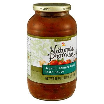 Nature's Promise Organics Pasta Sauce Organic Tomato Basil