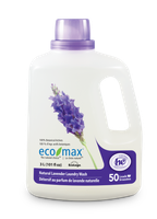 Ecomax Eco-Max Laundry Wash, Natural Lavender, 50 loads