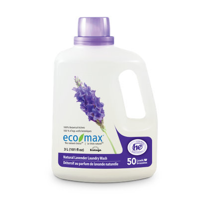 Ecomax Eco-Max Laundry Wash, Natural Lavender, 50 loads