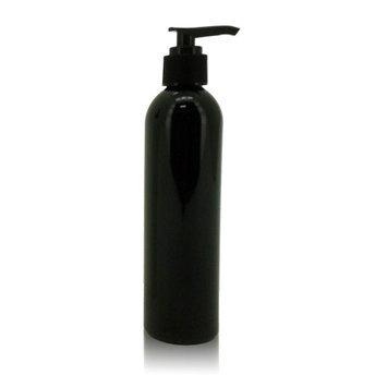 Vandue Royal Massage 8oz Empty Massage Oil Bottle with Pump - Black