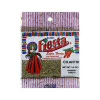 Fiesta Dehydrated Cilantro Bag, 0.25-Ounce (Pack of 12)