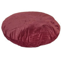 Happy Hounds Stella Round Dog Bed, Extra Small 24, Garnet