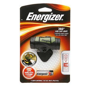 Energizer 360 Degree LED Cap Light