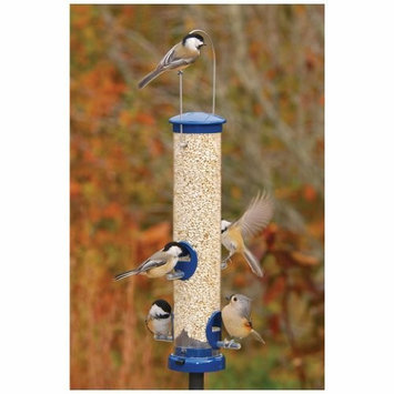 Aspects Incorporated Aspects 408 Quick-Clean Seed Tube Feeder, Small - Blue