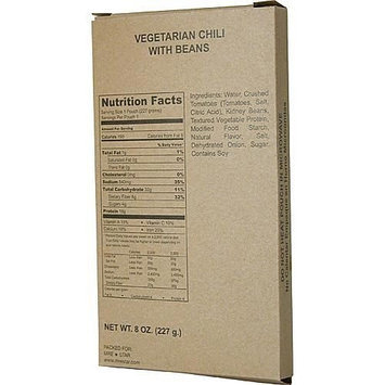 Hormel MRE (Meal Ready to Eat) Entrée - Vegetarian Chili with Beans