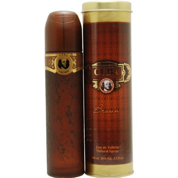 Cuba Brown Brown Eau De Toilette Spray