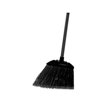 Rubbermaid -Black Brute Angled Lobby Broom