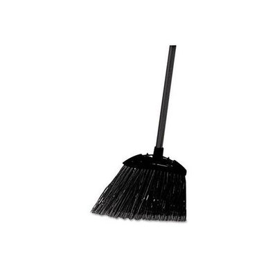 Rubbermaid -Black Brute Angled Lobby Broom