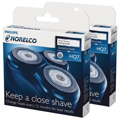 Norelco HQ7 (2-Pack) 2 Replacement Heads