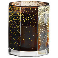 Illume Large Marnie Glass Candle - Woodfire by Illume