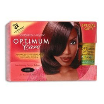Optimum Care Advanced Technology Conditioning No-Lye Relaxer System, Super 1 set