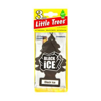 Little Trees 3-pak Black Ice Car Freshener