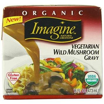 Imagine Organic Gravy, Vegetarian Wild Mushroom, 16 Ounce (Pack of 12)