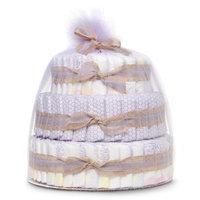 The Honest Company Honest Diaper Cake Gift Set - Girls
