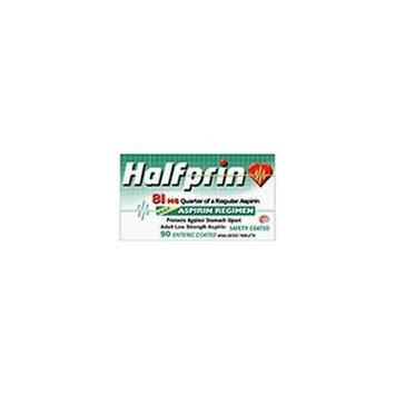 KRAMER LABORATORIES Halfprin 81 Mg Aspirin Tablets, Quarter Of a Regular Aspirin for Heart - 90 Tablets