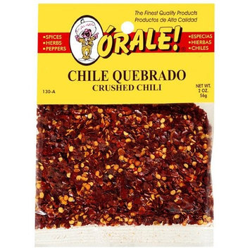Orale Crushed Chili, 2 oz