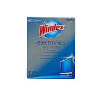 Windex Electronics Dry Cloths