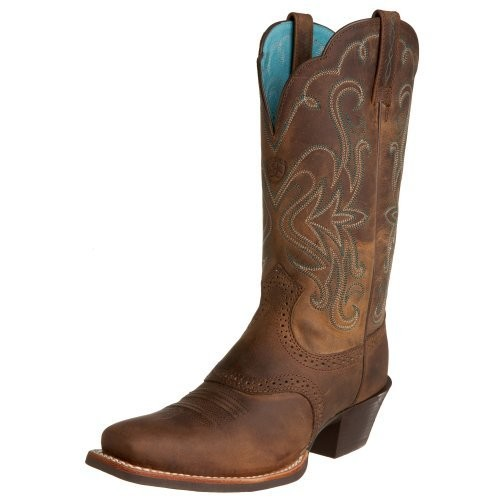Ariat Women's Legend Western Boot [Distressed Brown, 7.5 B(M) US]