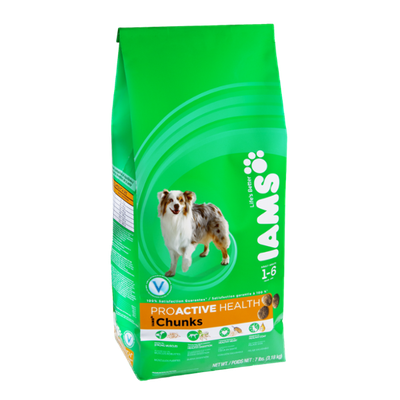 Iams Proactive Health Chunks Adult Dog Food