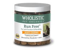 Wholistic Pet Run Free Soft Chew 120 Count