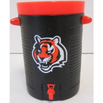 Scottish Christmas NFL Officially Licensed Cincinnati Bengals Orange and Black Water Cooler Drinking Cup