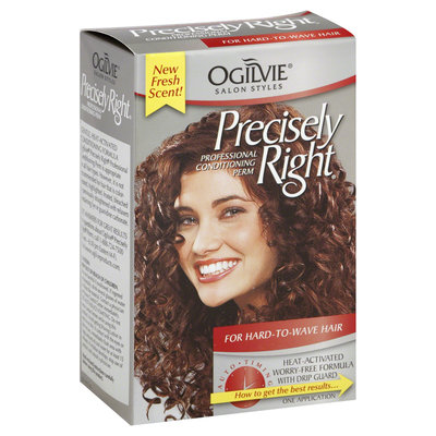 Ogilvie Salon Styles Precisely Right Conditioning Perm for Hard to Wave Hair