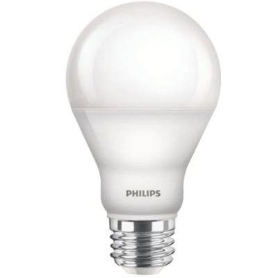 Philips 60W Equivalent Soft White A19 Dimmable LED with Warm Glow Light Effect Household Light Bulb (3-Pack)