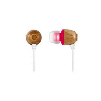 Zenex EP5500 Wooden Chamber Acoustic Headphones- Pink