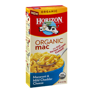 Horizon Organic Mac Macaroni & Mild Cheddar Cheese