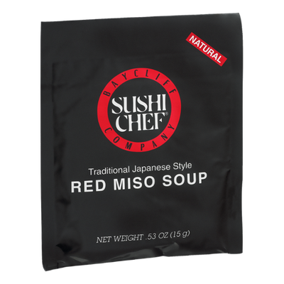Baycliff Company Sushi Chef Red Miso Soup Traditional Japanese Style