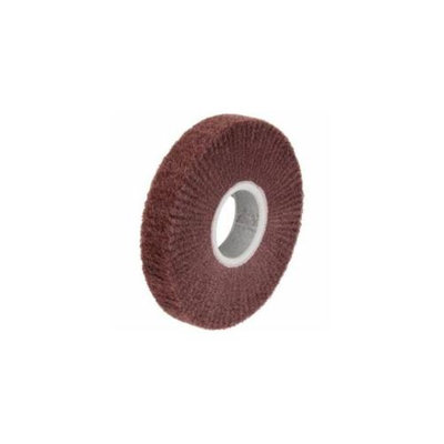 3M Abrasive 405-048011-14781 Scotch-Brite Non-Woven Aluminum Oxide Flap Wheel, 10 Each Per Carton