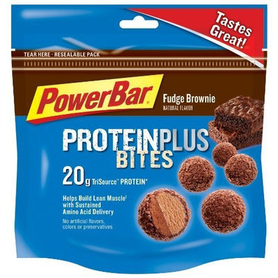 PowerBar Protein Plus Bites Fudge Brownie