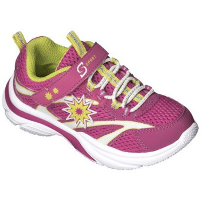 S SPORT BY SKECHERS Toddler Girl's Pink Sunburst Sneaker