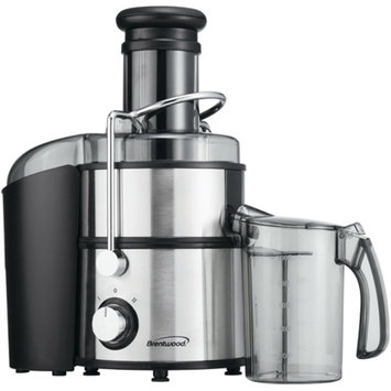 Brentwood Industries Brentwood Appliances JC-500 Stainless Body Power Juice Extractor 700W